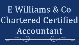 Logo, E Williams & Co, Accounts Preparation in London, SW2
